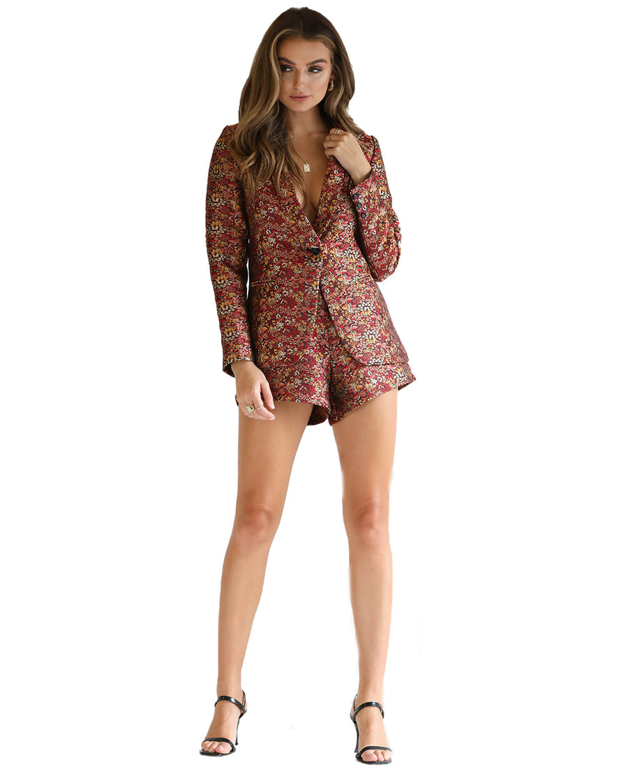 SEVEN WONDERS FLORAL CO-ORD