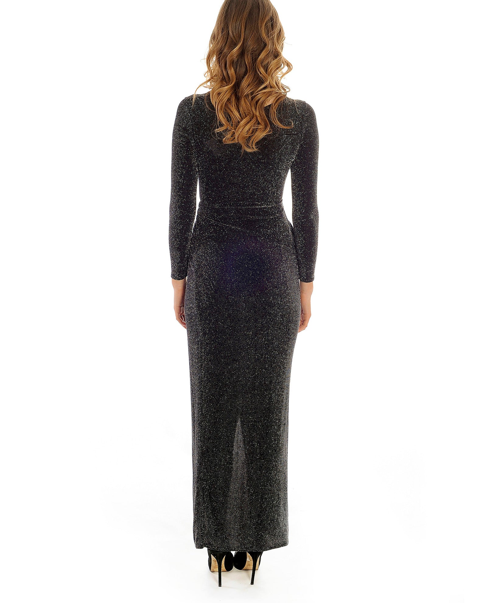 Rent dress | Black sparkle Binky In the style | Hirestreetuk.com
