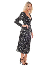 THE EAST ORDER LUCETTE MIDI DRESS