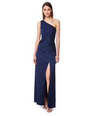 JARLO ROSE MAXI IN NAVY