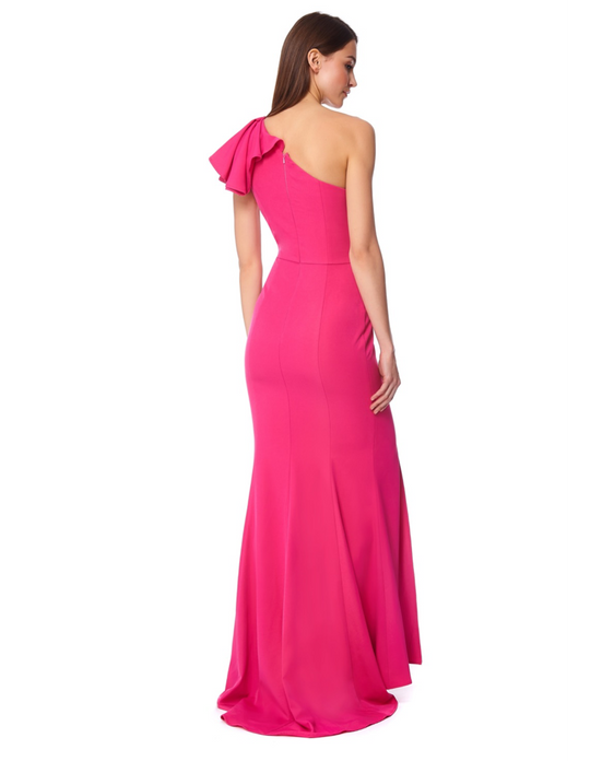 JARLO SYDNEY FUCHSIA MAXI DRESS