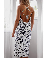 Hire Runaway The Label Monochrome Slip Dress