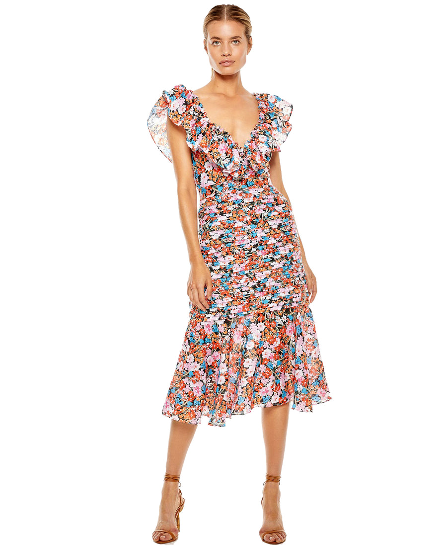 TALULAH CLOUD NINE MIDI DRESS