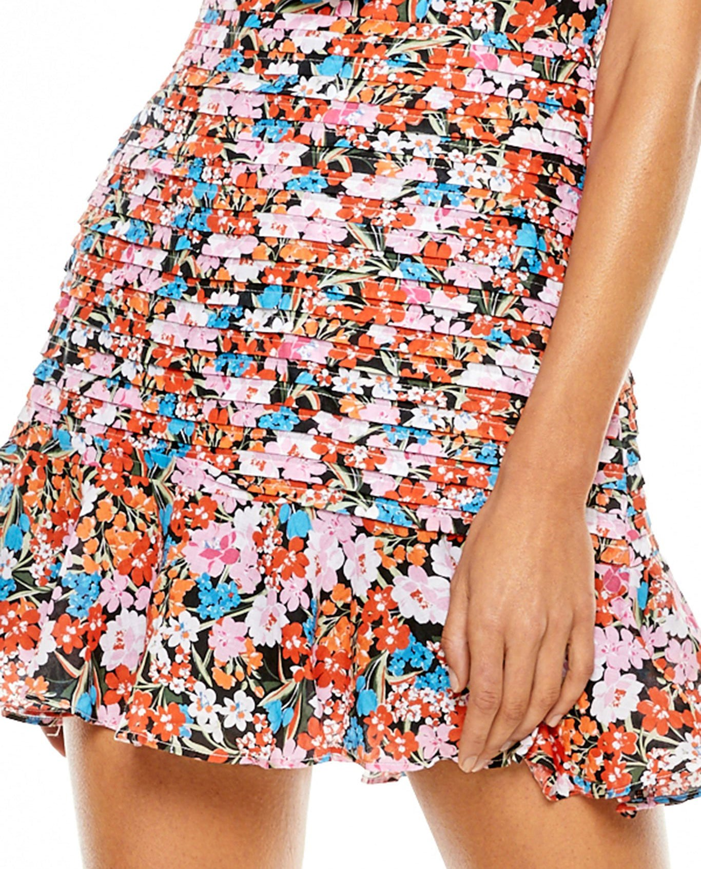 TALULAH CLOUD NINE FLORAL MINI DRESS