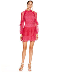 TALULAH FUCHSIA DELIGHT MINI DRESS