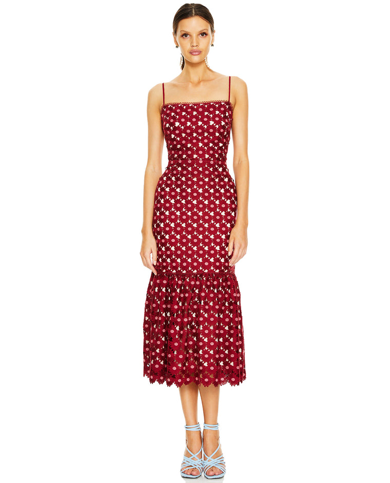 TALULAH LADY OF LUXURY MIDI DRESS