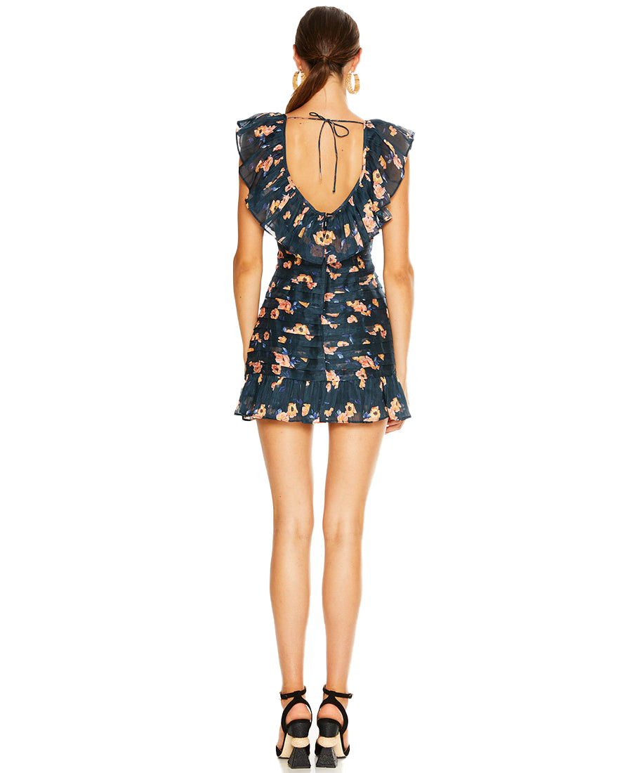 TALULAH CHAIN OF FIRE MINI DRESS