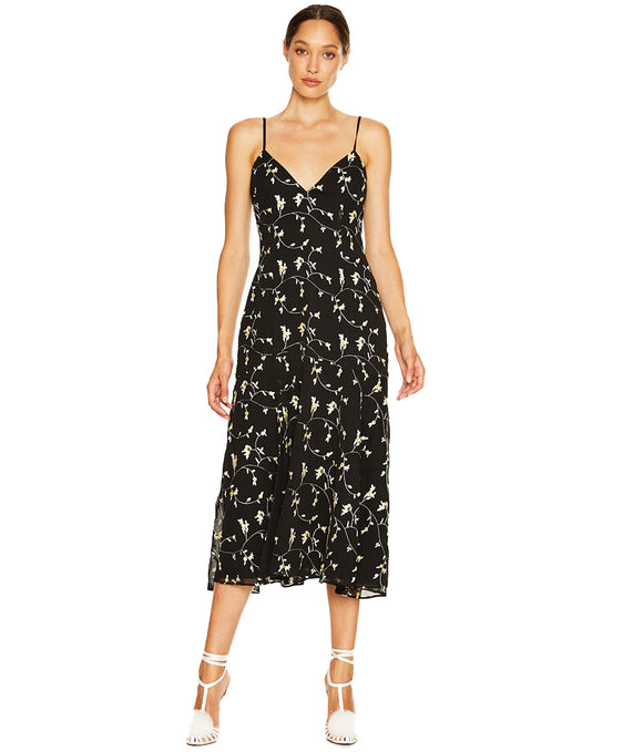 TALULAH NIGHT SPARK MIDI DRESS