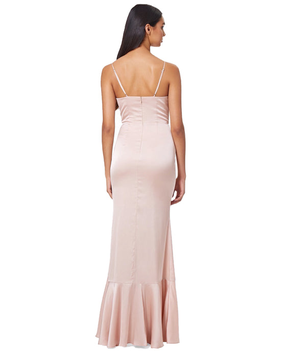 JARLO NUDE PINK LILY DRESS