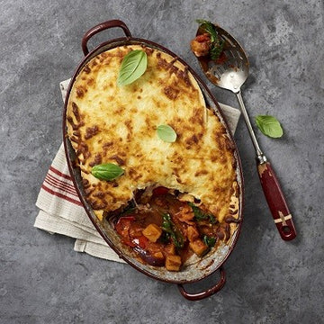 Superfood-Butternut-Lasagne mit Tortilla statt Pasta