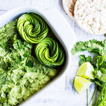 Superfood Guacamole mit Chlorella