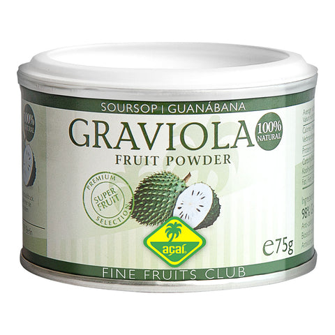 Fine Fruits Club Graviola, Pulver