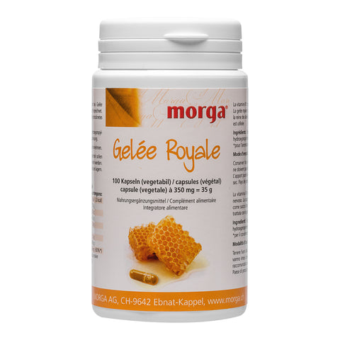 morga Gelée Royale Vegicaps mit Vitamin B1