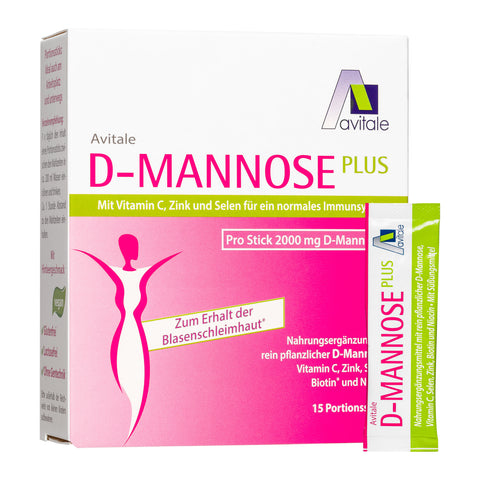 Avitale D-Mannose Plus 2000 mg Sticks
