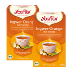 Yogi Tea Bio Ingwer Orange mit Vanille