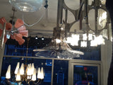 Murano Glass Petal Chandelier by Carlo Nason for Mazzega