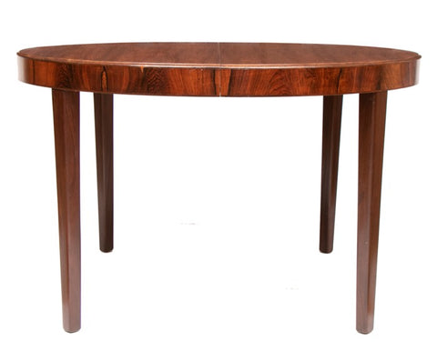 1940s Art Deco Rosewood Ole Wanscher Dining Table