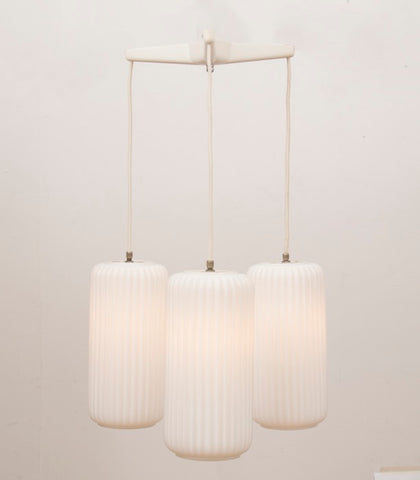 1950s 3 Shade Italian Arredoluce Pendant Light