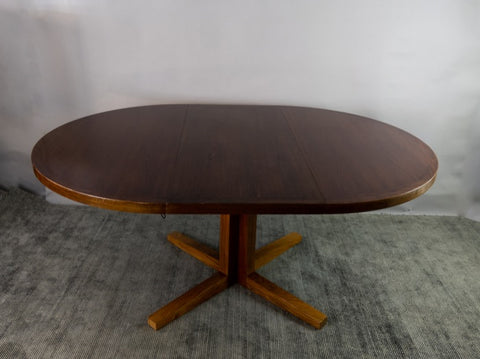 1960s John Mortensen Rosewood Dining Table for Heltborg Møbelfabrik