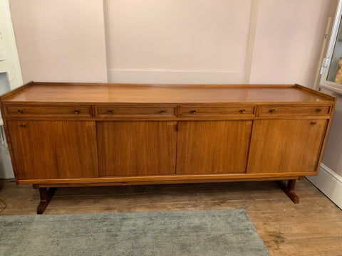 1960s Large Danish Rosewood Sideboard