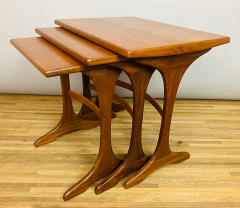 1960s G Plan 'Fresco Range' Teak Nest of Tables