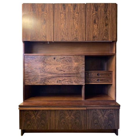 1960s Robert Heritage for Archie Shine Rosewood Wall Unit