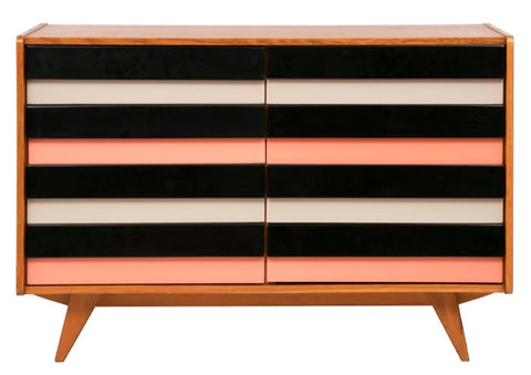 Midcentury Chest of Drawers by Jiří Jiroutek for Interier Praha c.1960
