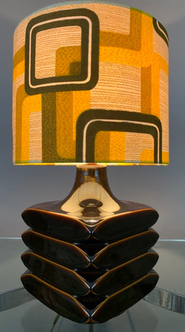 1970s Cari Zalloni 'Facette' Table Lamp
