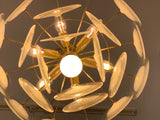 1970s Vistosi Style Hanging Glass Disc Chandelier