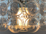 1970s Limburg Helena Tynell Bubble Glass Pendant