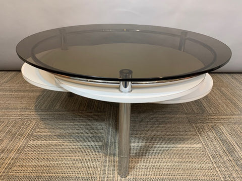 1970s Space Age Concentric Circle Coffee Table