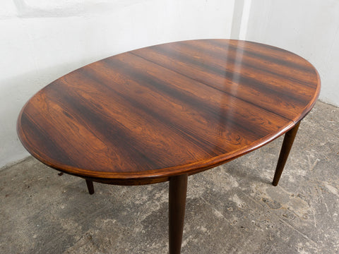Danish Gudme Rosewood Dining Table