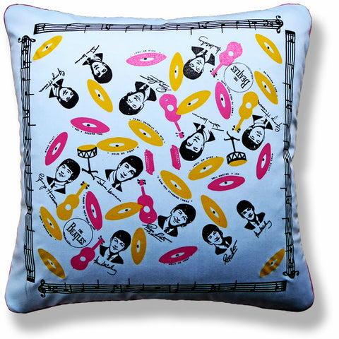 Vintage Cushions - 'The Beatles'