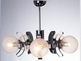 Vintage Murano Glass Chandelier C.1970