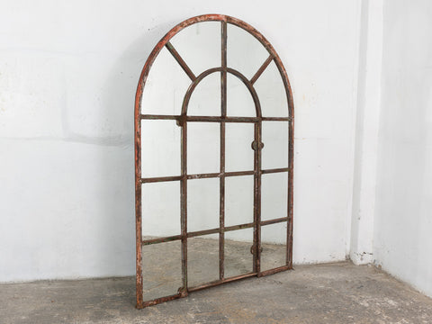 Industrial Reclaimed Rustic Window Mirror