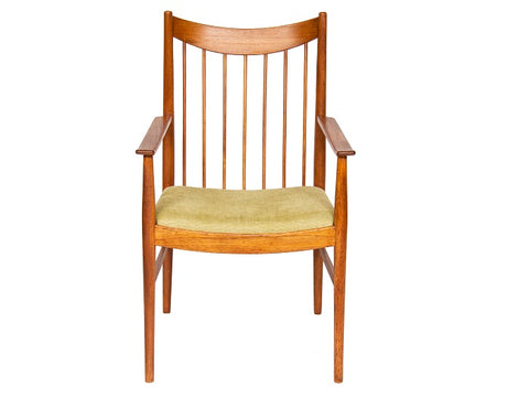 1950'S Arne Vodder Oak Captain's Chair by Sibast