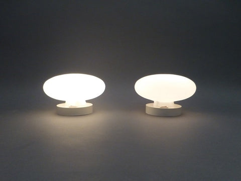 Pair of Moon Table Lamps