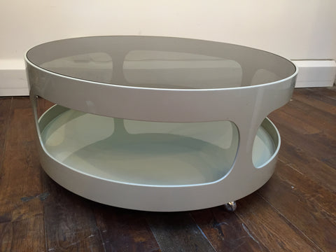 1970s Nebu Space Age Round Coffee Table