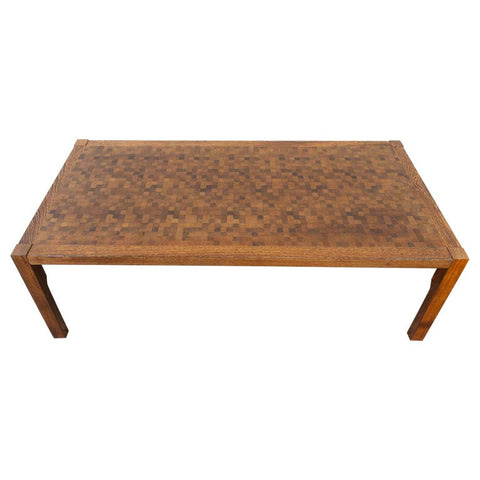 1970s Rolf Middelboe & Gorm Lindum Wenge Coffee Table