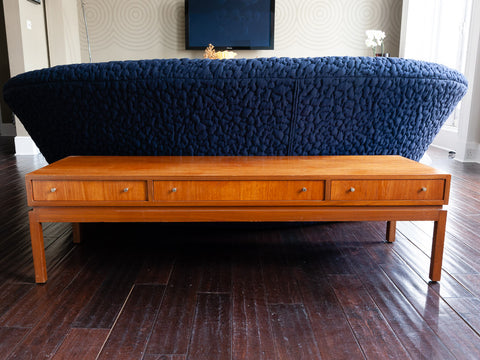 1960s Greaves and Thomas Console Coffee Table