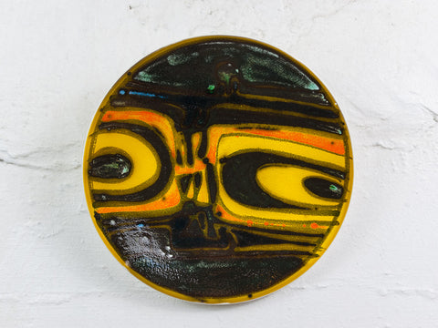 Poole Pottery Plate by Carolyn Bartlett 1962-65