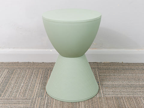 Modernist Philippe Starck for Kartell 'Prince Aha' Pale Green Stool