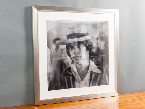 MICK JAGGER BLACK & WHITE LENTICULAR BY MATTHEW ANDREWS