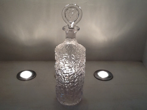 1970's WHITEFRIARS GLACIER DECANTER