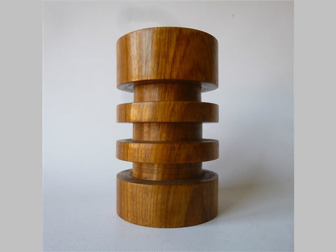1960s Danish Teak Candle Holder