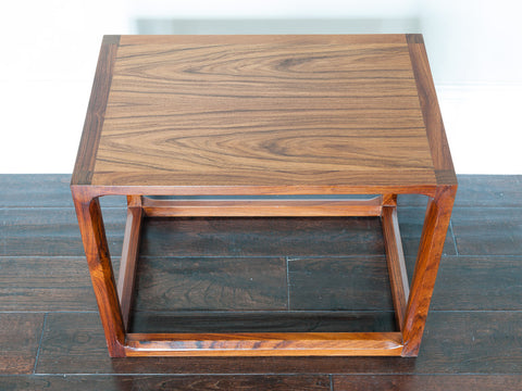 1960s Aksel Kjersgaard Danish Rosewood Small Coffee Table
