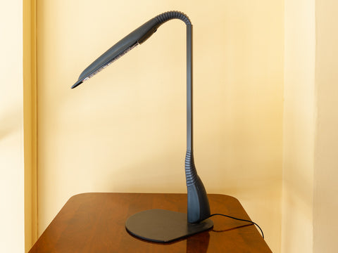 1980's French LED Cobra desk lamp by Philippe Michel for Manade