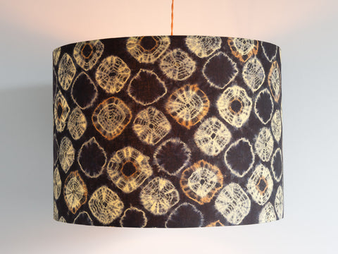Large Retro Tie Dyed Lampshade