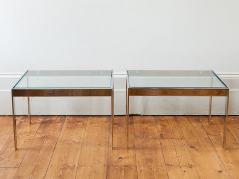 Pair of 1970s Merrow Associates Side Tables