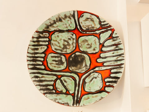 Large Poole Pottery Wall Charger